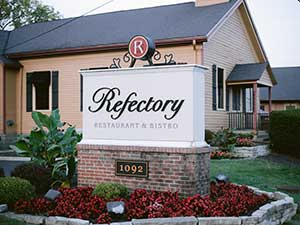 Exterior Refectory Restaurant