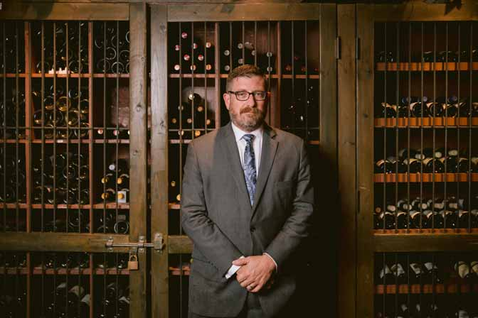 Chris Dillman - Top Midwest Region Sommelier